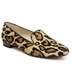 Sam Edelman Jordy Leopard Calf Hair Flats